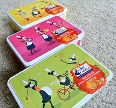 Boîtes biscuits bretons KerCadélac