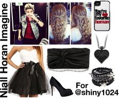 """Niall Horan imagine for @shiny1024"" by for-the-love-of-music ❤ liked on Polyvore"