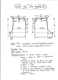 High Waisted Shorts (Sewing and Cutting) - Inspiration Needlewoman Diy Shorts, Sewing Shorts, Sewing Clothes, Diy Clothes, Sewing Patterns Free, Sewing Tutorials, Clothing Patterns, Free Pattern, Diy Pantalones Cortos
