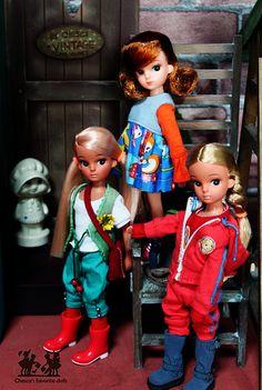 My Licca dolls by Bychesca