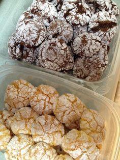 Cool Whip cookies- 1box any flavor Cake mix, chocolate, red velvet, lemon, etc. 1- 8 ounce Cool Whip 1 egg mix altogether in bowl drop by teaspoonfuls into powdered sugar; place on cookie sheet. Bake at 350 degrees for 12 to 15 minutes, cool before removing from cookie sheet.
