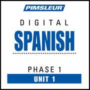 Spanish Phase 1, Unit 01: Learn to Speak and Understand Spanish with Pimsleur Language Programs   http://paperloveanddreams.com/audiobook/361226826/spanish-phase-1-unit-01-learn-to-speak-and-understand-spanish-with-pimsleur-language-programs  
