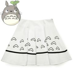 totoro skirt| discount: okaywowcool  totoro anime studio ghibli kawaii hipster fachin skirt bottoms under30 discount storenvy cutey