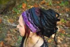 Dreadband Boho Headband Dread Wrap Women's by IntergalacticApparel