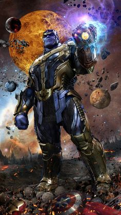Ultimate Best Marvel Cinematic Universe (MCU) Superhero Thanos Wallpapers in HD for iPhone or Android. Use as Homescreen or lock screen wallpapers. Thanos Marvel, Marvel Avengers, Marvel Comics, Marvel Villains, Marvel Comic Universe, Marvel Characters, Marvel Cinematic Universe, Daredevil Punisher, Iron Man Wallpaper