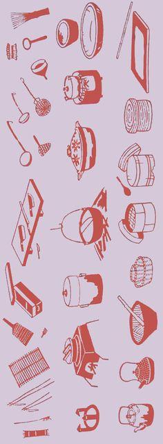 [戸田屋商店]手ぬぐい台所【旧色】手ぬぐい(てぬぐい)・風呂敷(ふろしき)・扇子専門店【楽天市場】