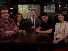 It's the whole crew. Love Robin, Barney, Ted, Lily, and Marshall. They are great characters and make this show one of my favorites!!!