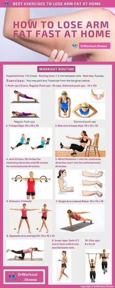 to Lose Arm Fat Fast At Home? – Lose arm fat at home without weights How to Lose Arm Fat Fast At Home? – Lose arm fat at home without weights Loose Arm Fat, Lose Arm Fat Fast, Lose Body Fat, Fat To Fit, How To Lose Weight Fast, How To Burn Fat, Reduce Weight, Arm Fat Exercises, Arm Workouts At Home