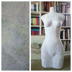 3D прототипирование для персонального портняжного манекена.  Это часть от проекта, который ждёт своего воплощения.   Три года разрабатывала технологию изготовления манекена из папье-маше по индивидуальным меркам снятых с клиента. Для отшива одежды.   Проект в разработке. Следите за обновлениями!