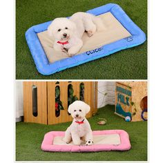 Koodon Pet Ice Silk Kennel Puppy Cool Bed Mat for Summer -Soft,Durable,Resistant to Dirt * See this great product. (This is an affiliate link and I receive a commission for the sales)