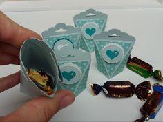 Self-closing box mini version - Self-closing box mini version – my creative laboratory - Ideas Scrapbook, Scrapbook Designs, Scrapbook Supplies, Diy Envelope, Envelope Punch Board, Stampin Up, Origami Box, Origami Tutorial, Wood Working For Beginners