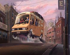 "Check out new work on my @Behance portfolio: ""Van"" http://be.net/gallery/52546451/Van"