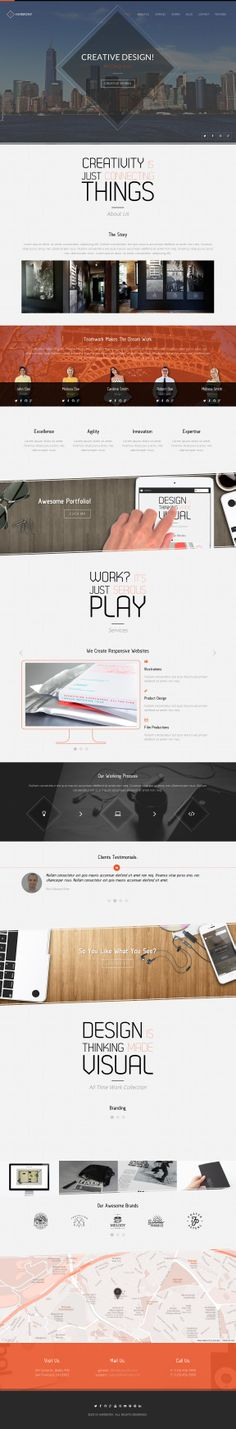 Harmony - Animated One-Page HTML 5 Template by IG_design