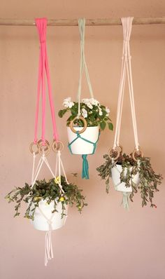 The best tutorials for DIY MACRAME PLANT HANGERS - DIY MACETERO DE MACRAMÉ, DIY MACRAME PLANT HANGER