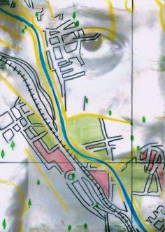Arte Postal Recebida   Mapas de Influências