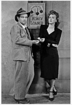 Tom Neal and Ann Savage, Detour