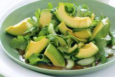 Avocado salad with Asian dressing