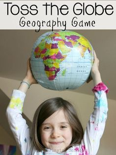 Teach kids geography in a hands on active way thought this gross motor game! (kindergarten, 1st grade, 2nd grade, 3rd grade)