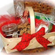Homemade Holiday Gift Baskets