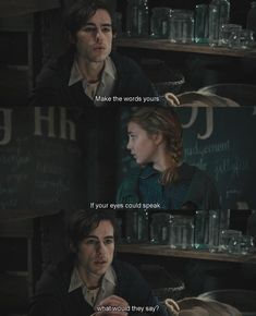 The Book Thief Dir. Brian Percival (2013) If your eyes could speak, What would they say?