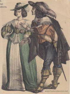 la moda del siglo XV.