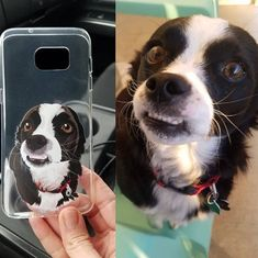 Get YOUR pet hand-drawn & UV printed on a transparent OR colored Eco-friendly phone case now. Animal Phone Cases, Dog Phone, New Phones, Pet Portraits, Boston Terrier, Your Pet, Pup, How To Draw Hands, Etsy Shop