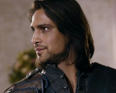 D'Artagnan (Luke Pasqualino). The Musketeers