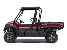 """New 2016 Kawasaki Mule Pro-FXâ""""¢ EPS LE ATVs For Sale in Tennessee. As the newest edition to the MULE family, the MULE PRO-FX is our fastest, most powerful, three-passenger MULE side x side ever. Built on the same rugged platform as the PRO-FXT, this revolutionary side x side also comes equipped with the largest cargo bed in its class. To top it off, the PRO-FX is backed by the Kawasaki Strong 3-Year Limited Warranty."""