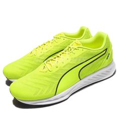 Puma Ignite 3 Pwrcool Yellow Men Running Shoes Sneakers Trainers 189453-03