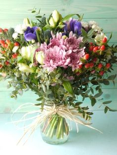Beautiful Posy by The Great British Florist.