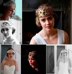 Vintage-wedding-inspiration-downton-abbey-wedding-theme-bridal-headpieces-2.original