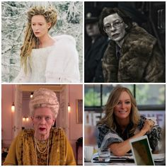 The many faces of Tilda Swinton.