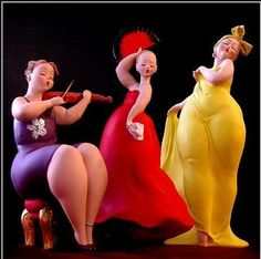 Plus Size Sculptures from Emilio Casarotto. Yesss. I want. Would go great with my curvy mermaid