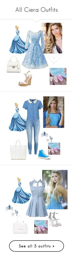 """""""All Ciera Outfits"""" by jakela778 on Polyvore featuring Charles by Charles David, Disney, Miu Miu, WithChic, Converse, TRUSS, Giuseppe Zanotti, Orciani, Forever Unique and Bella Belle"""