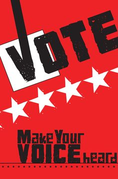 vote poster | Voting poster by MarcieLowery151 on DeviantArt