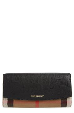 c2f39e51bda1 Burberry  Porter  Continental Wallet