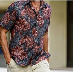 "Introducing the newest must-have to add to your wardrobe, our ""Kalo"" #alohashirt. #mensfashion #reynspooner #mensshirt #mensstyle #style"