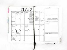 Instagram media by thejaernalist - On a scale of 1 to CRAZY, how busy is your month of May? This was what my #BulletJournalMonthlyLog for May looked like at the beginning of the month. As of today, I can barely fit in more events/things into my calendar.