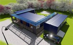 Large Modular Prefabricated Good Quality Container House