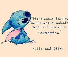 Ohana means..