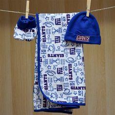 NY Giants Baby Take Me Home Set
