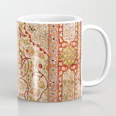 Unique Coffee Mugs, Prayer Rug, Tea Mugs, Wraparound, Textile Art, North West, Coffee Cups, Microwave, Dishwasher