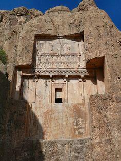 Xerxes tomb at Naqsh-e Rostam