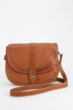 Frye Campus Leather Saddle Bag