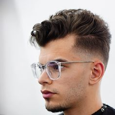 Cool Medium Men's Haircut.    #coolhaircuts #haircuts #menshaircuts #haircutsformen #menshairstyles #hairstylesformen #menshaircuts2018 #menshairstyles2018