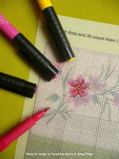 How to design your own cross stitch pattern. Absolutely genius