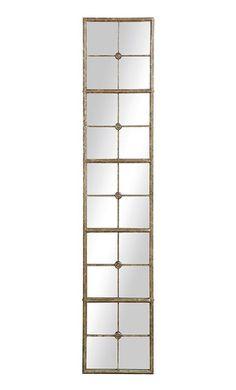 Creative Co-Op Metal Floor Length Framed Mirror, Antique Gold Mirror Panels, Floor Mirror, Contemporary Full Length Mirrors, Modern Contemporary, Glam Mirror, Mirror Mirror, Oversized Wall Mirrors, Framed Mirrors, Metal Floor