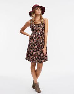 AVIRA FLOWER klänning Multi