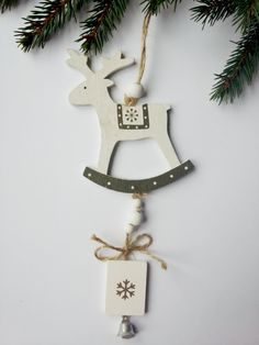 Home Decoration Holiday Ornament Christmas by WoodenLook on Etsy