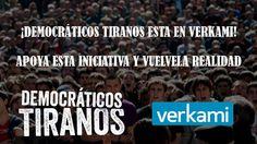 #DOCUMENTAL #FILM #ECONOMIA #CRISIS - Democráticos Tiranos by Chema Mascareña. A través de la historia de los protagonistas, queremos señalar las grandes semejanzas y estrechas diferencias que unen el periodo histórico de la transición democrática con la convulsa realidad actual: pérdida de derechos, precarización laboral, el poder de la economía y la falta de justicia. +INFO: http://chemasonido.blogspot.com.es CAMPAÑA CROWDFUNDING verkami www.verkami.com/projects/4890